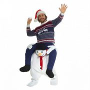 Adult Snowman Piggyback Costume