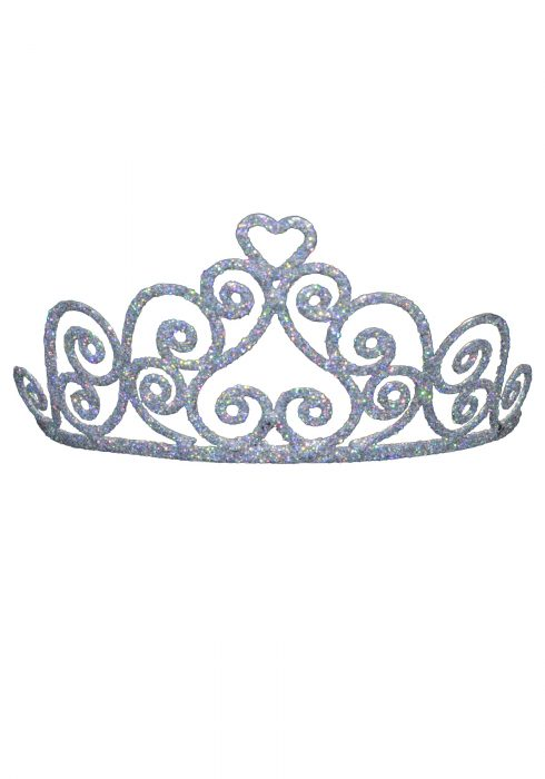 Adult Sparkle Heart Tiara