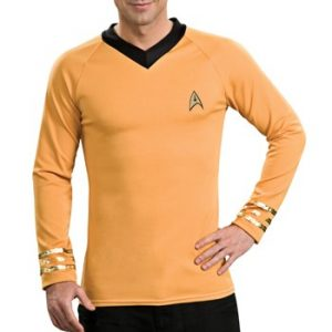 Adult Star Trek Captain Kirk Costume
