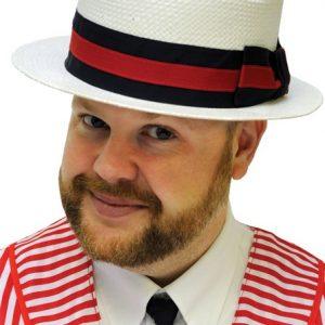 Adult Straw Skimmer Hat