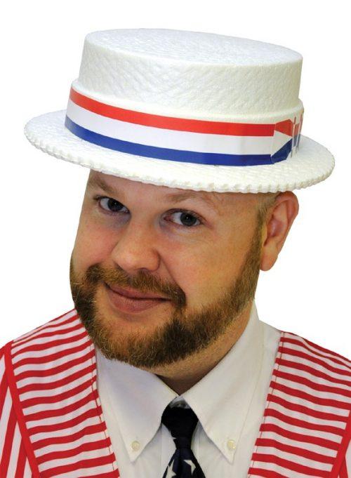 Adult Styrofoam Skimmer Hat