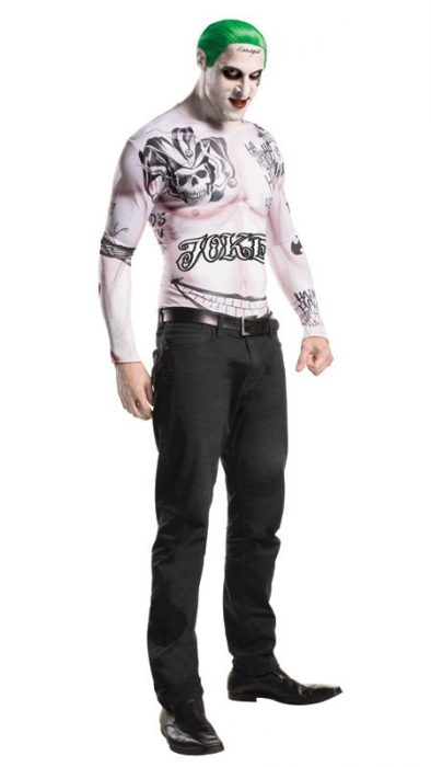 Adult Suicide Squad The Joker Costume Kit