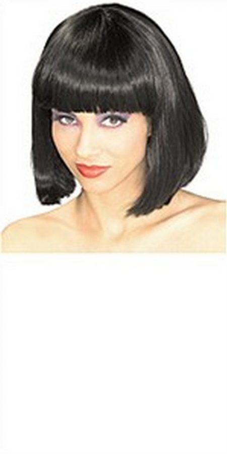 Adult Super Model Black Wig