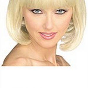 Adult Super Model Blonde Wig