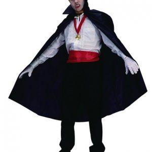 Adult Taffeta Dracula Cape