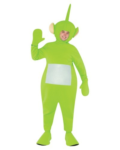 Adult Teletubbies Dipsy Costume - Green