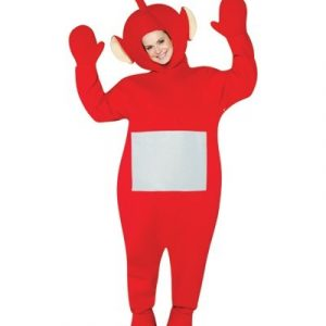 Adult Teletubbies Po Costume - Red