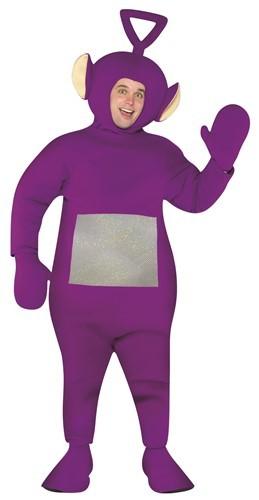 Adult Teletubbies Tinky Winky Costume - Purple