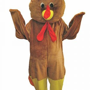 Adult Thanksgiving Turkey Mascot