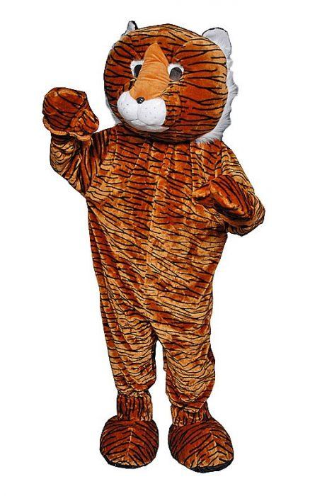 Adult Tiger Mascot