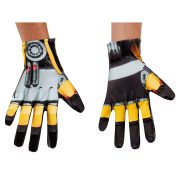 Adult Transformers 4 Bumblebee Gloves