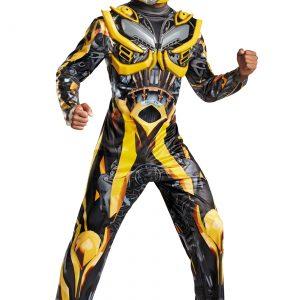 Adult Transformers 4 Deluxe Bumblebee Costume