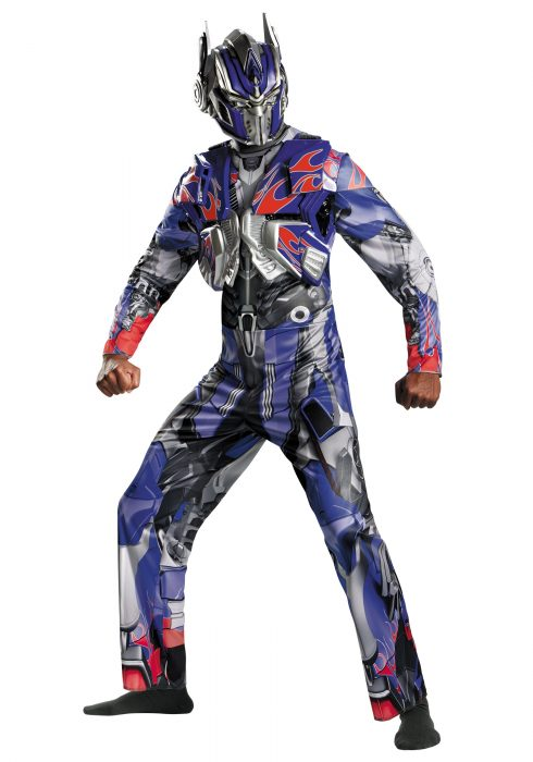 Adult Transformers 4 Deluxe Optimus Prime Costume