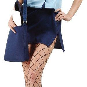 Adult U.S. Male Service Sexy Postwoman Costume