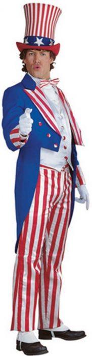 Adult Uncle Sam Suit