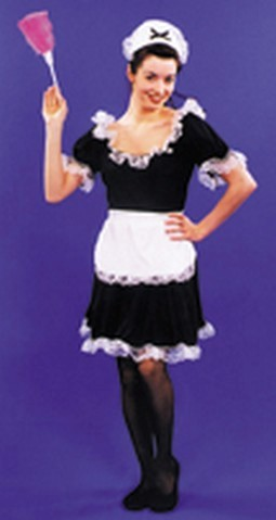 Adult Upstairs Maid Costume