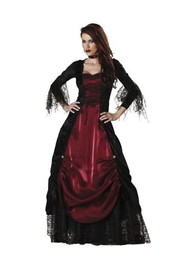 Adult Vampire Costume - Gothic Vampira