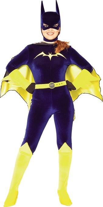 Adult Velvet Batgirl Costume