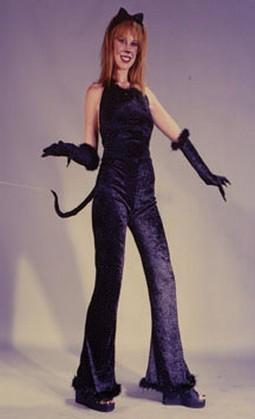 Adult Velvet Fantastic Feline Costume