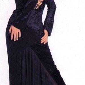 Adult Velvet Gothic Dress