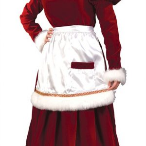 Adult Velvet Mrs. Santa Costume