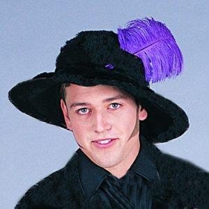 Adult Velvet Musketeer Hat