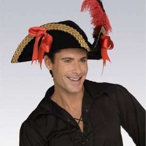 Adult Velvet Pirate Hat