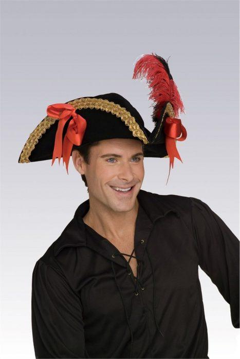 Adult Velvet Pirate Hat