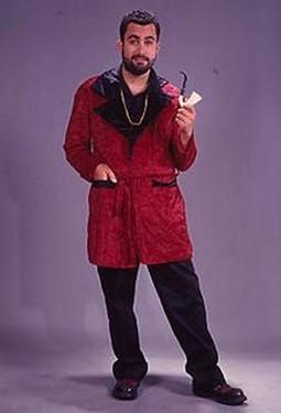 Adult Velvet Smoking Jacket
