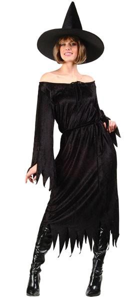 Adult Velvet Witch Costume