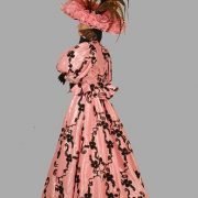 Adult Victorian Dress Costume ? Pink/Brown