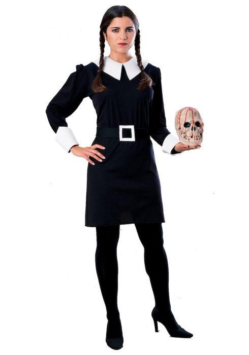 Adult Wednesday Addams Costume