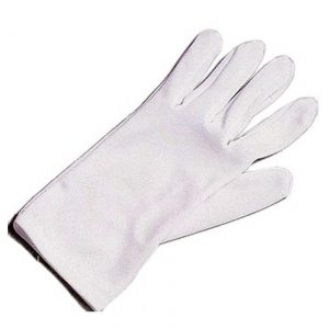 Adult White Costume Gloves