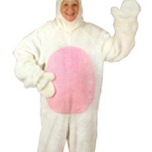 Adult White Male Bunny Costume