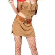 Adult Wild West Sexy Cowgirl Costume