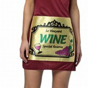 Adult Wine Bottle Dress