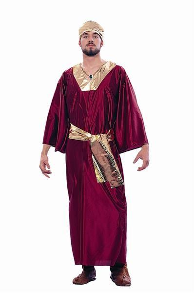 Adult Wiseman Costume - Wine