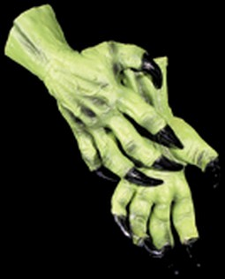 Adult Witch Costume Gloves Accessory