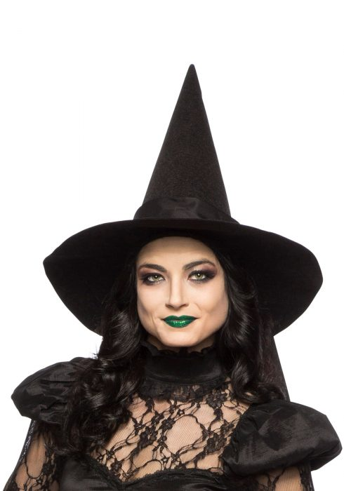 Adult Witch Hat with Bow