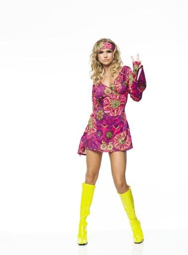 Adult Woman Hippie Costume