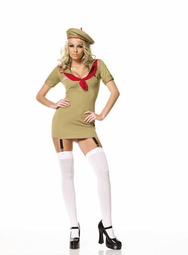 Adult Woman Trooper Costume