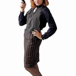 Adult Woman's Mobster Costume