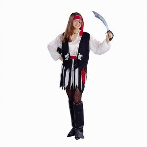 Adult Woman's Plus Size Pirate of the Caribbean Costume