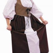 Adult Woman's Plus Size Renaissance Peasant Costume