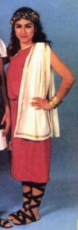 Adult Woman's Toga Costume
