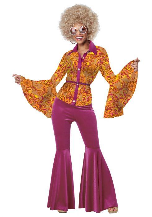 Adult Women's Funky Disco Diva Costume