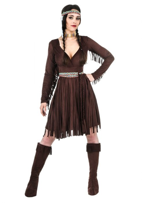 Adult Women's Native American Dress