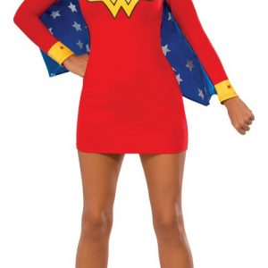 Adult Wonder Woman Cape Dress