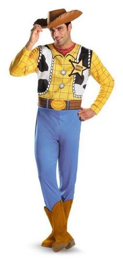 Adult Woody Costume - Classic
