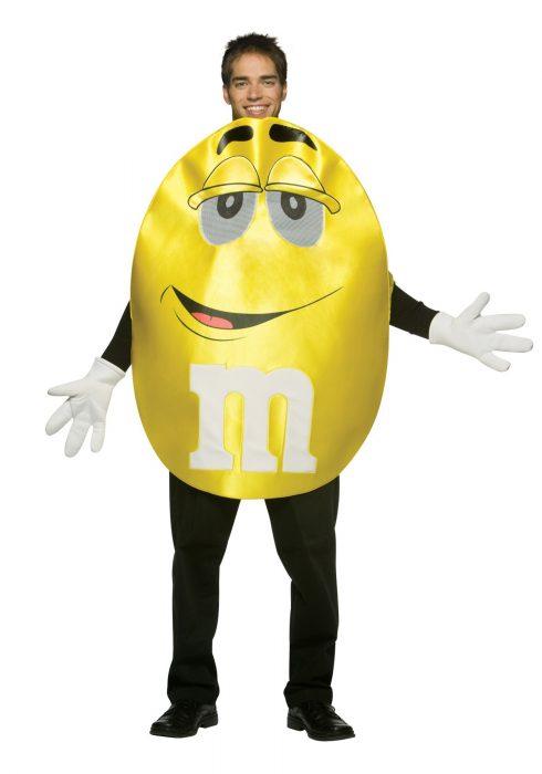 Adult Yellow M&M Costume